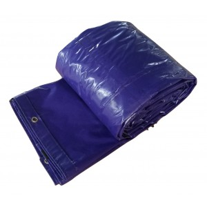 Purple*Blue 14 x 20 - Light Weight (15oz)  Truck Tarp, Steel Tarp