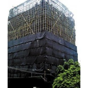 Fire Retardant Vertical Debris Netting - 20' x 200'