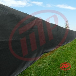 6 x 12  - Premium Privacy Fence Screen 90% Blackage (Black Color)
