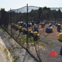 Paintball Netting - 12' x 100'  - outdoor use