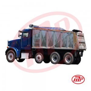 7 x 14 - Dump Truck Vinyl Tarp with Spline