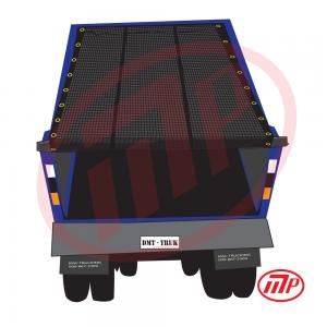 7 x 12 - Premium Dump Truck Mesh Tarp