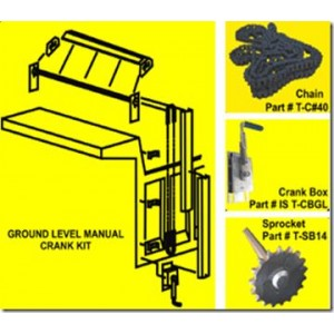Dump Truck Manual Tarp Aluminum Kit up to 28'