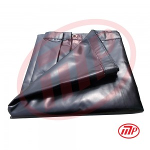 Xtarps -  8 x 12 - 18oz Heavy Duty Vinyl Tarp, Waterproof