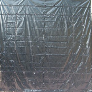 Purple*Blue 26 x 26 - Light Weight (15oz)  Truck Tarp, Machinery Tarp